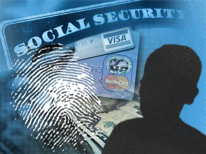ID Fraud thumb print