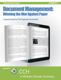 Document Management: Winning the War Against Paper Sponsered by CCH